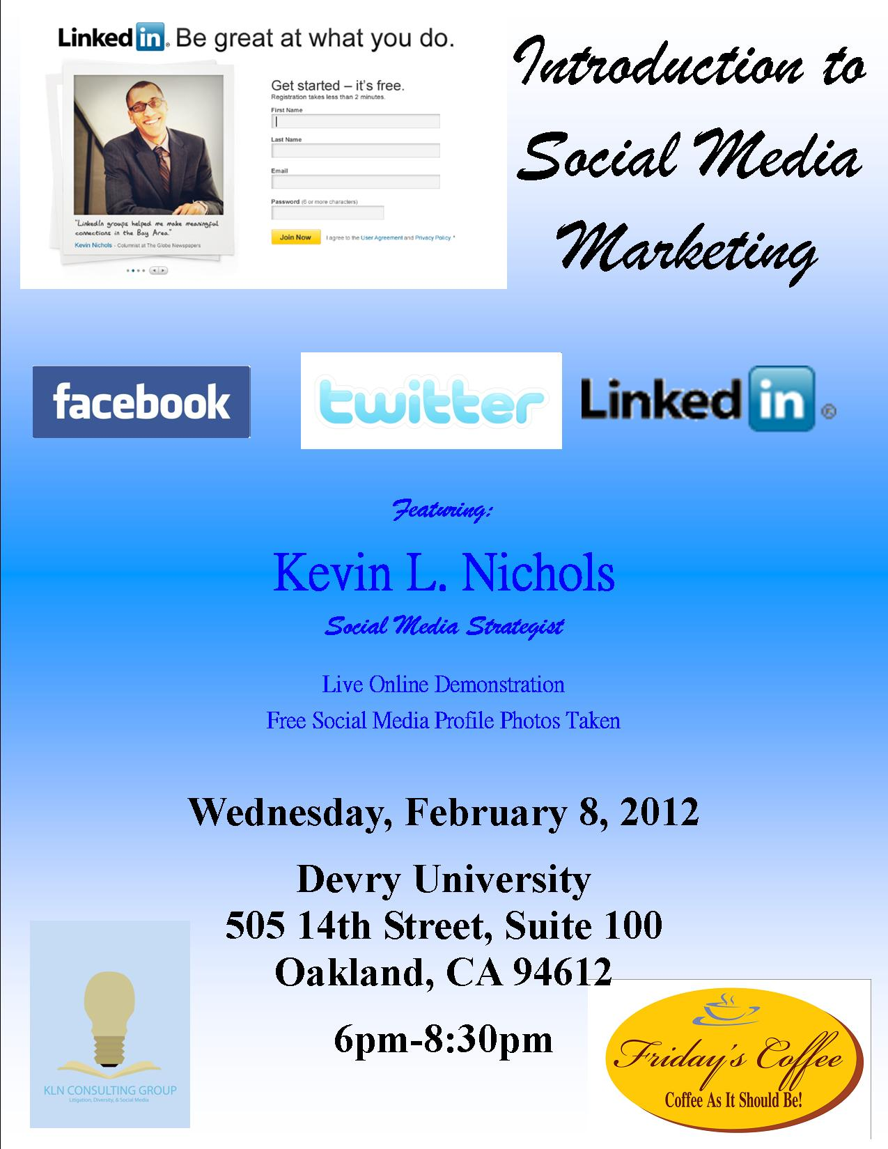 Facebook Kln Consulting Group